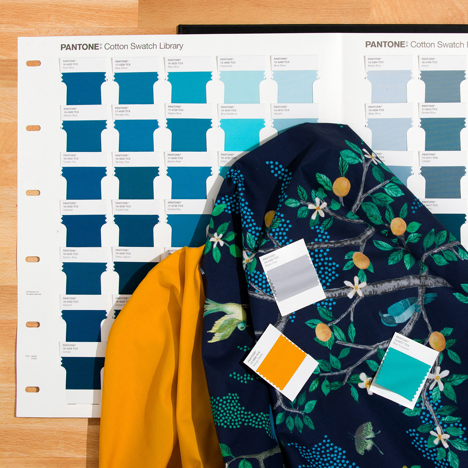 Fashion, Home + Interiors Cotton Swatch Library