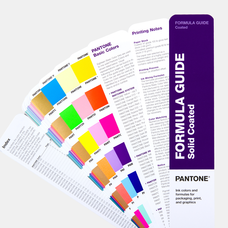 Formula Guide | Coated & Uncoated