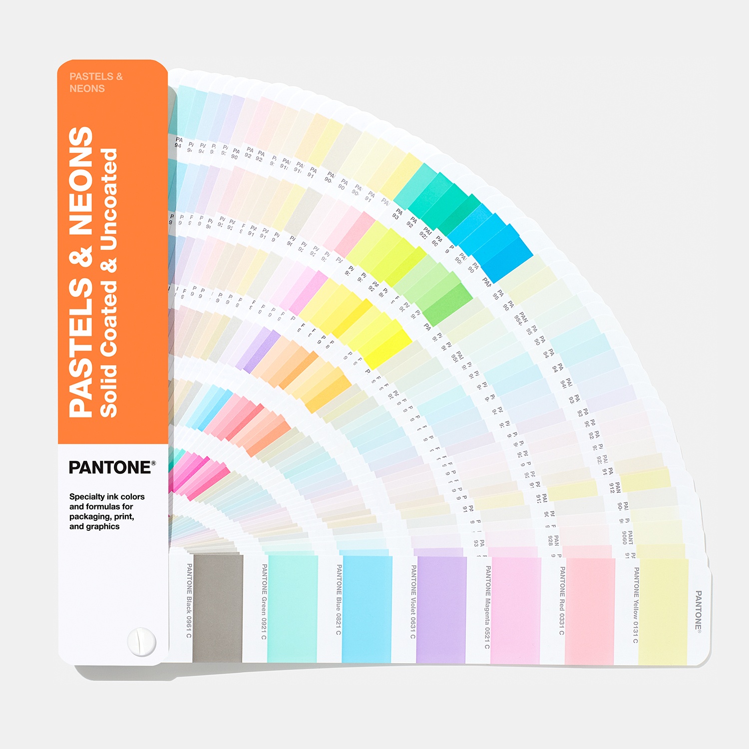 Pastels & Neons Guide | Coated & Uncoated