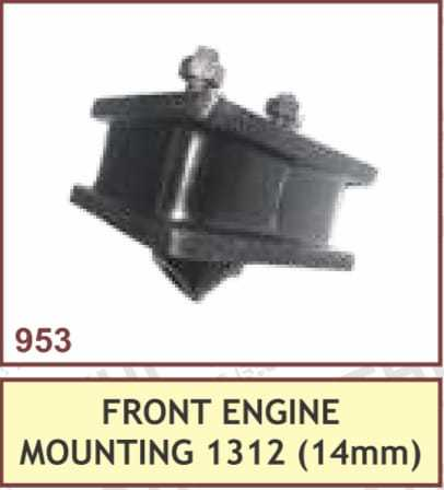 FRONT ENGINE MOUNTING 1312 (14mm)