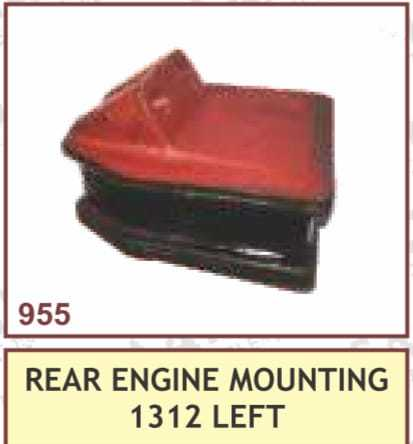 REAR ENGINE MOUNTING 1312 LEFT