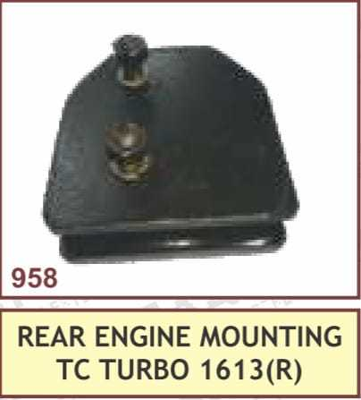 REAR ENGINE MOUNTING TC TURBO 1613(R)