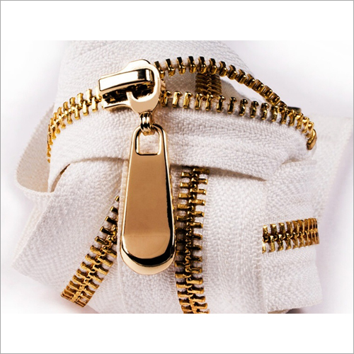 Golden Brass Zipper