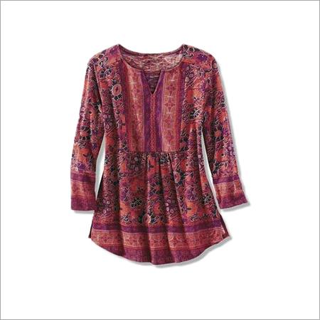 Ladies Printed Blouse & Tunics