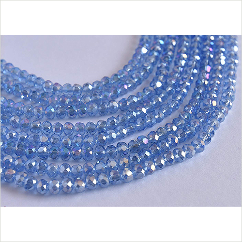 Blue Color Beads Lines