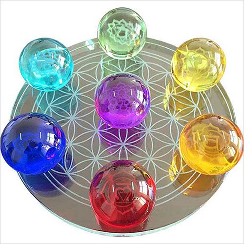 Multicolor Crystal Balls