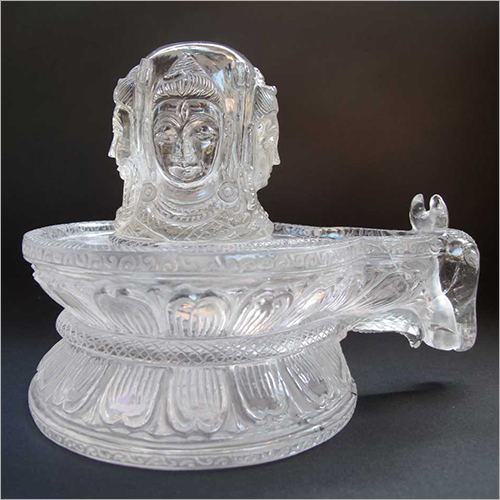 Crystal Four Directions Facing Shiva