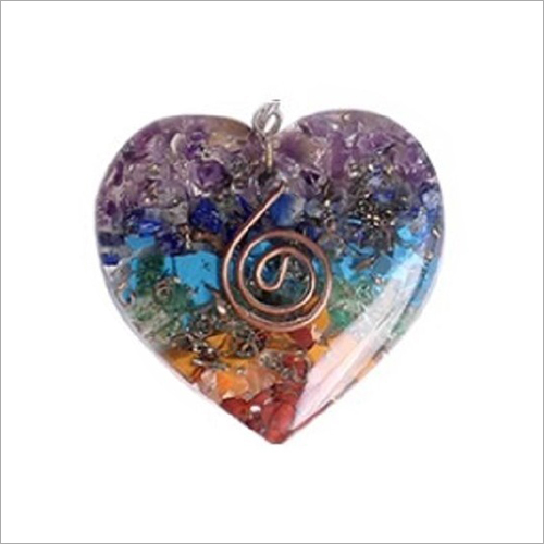 Heart Shape Orgonite Pendant