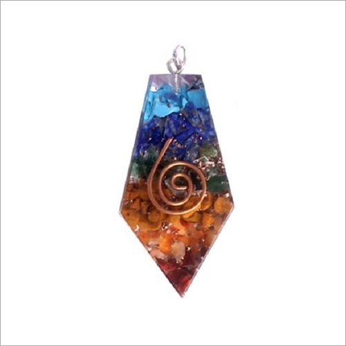Polygon Shape Orgonite Pendant