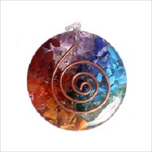 Round Shape Orgonite Pendant