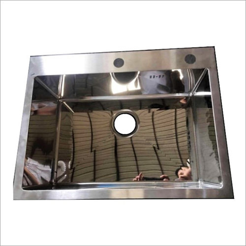 Glossy Mirror Finish Stainless Steel Sink