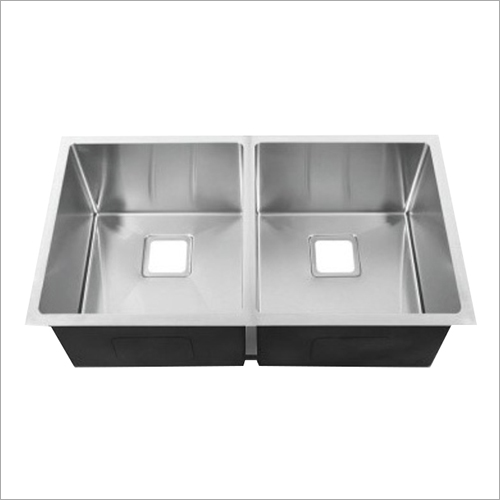 Matte Finish Stainless Double Bowl Steel Sink