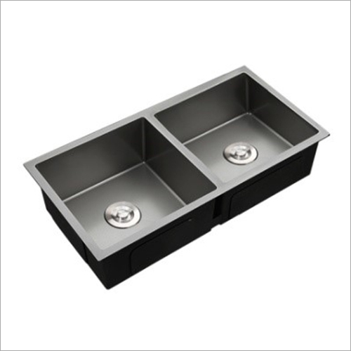 Coloured Matt Nano Technology Stainless Steel Double Bowl Sink
