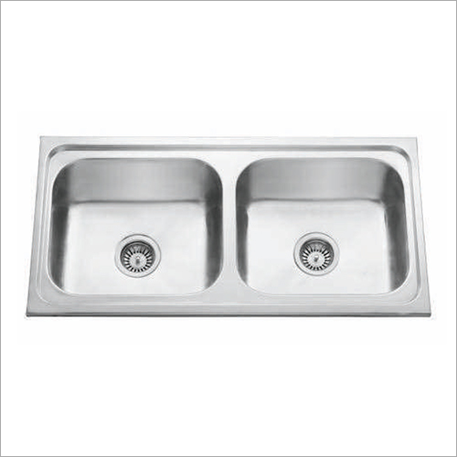 Double Bowl Electroplating Finish Sink