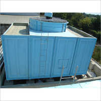 Double Cross Flow Cooling Tower