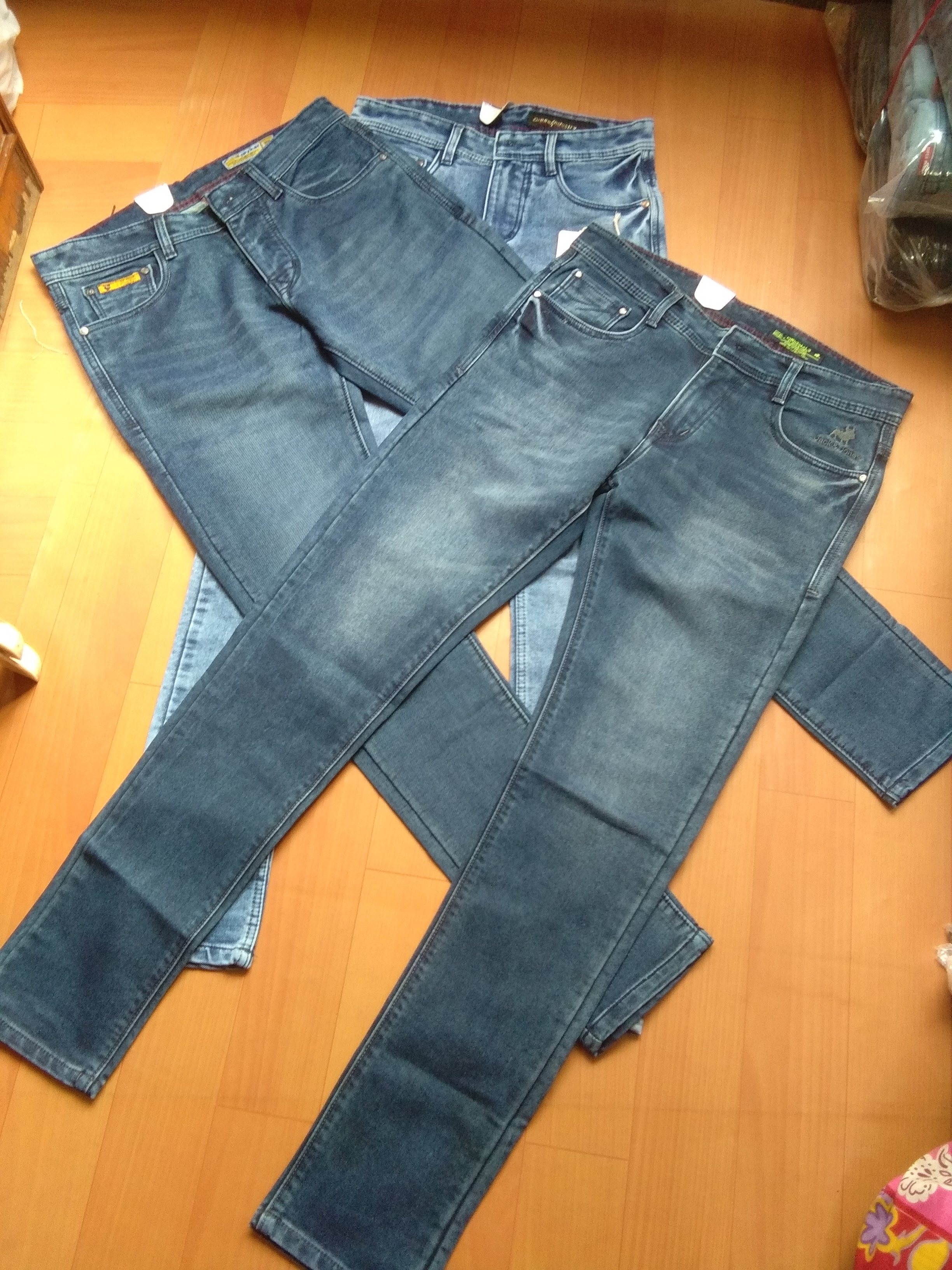 Knitted Men Jeans