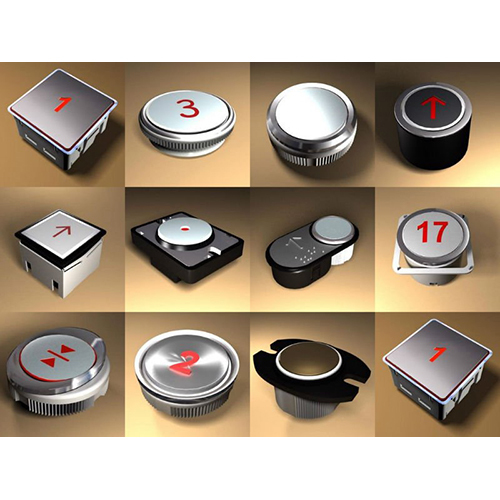 Elevator Contriol Panel Buttons