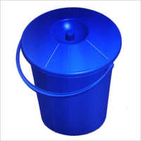 10-12 Ltr Injection Molded House Hold Plastic Dustbin