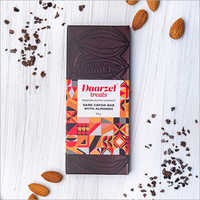 Darzel Treats Milk Cacao Dark Chocolate With Almonds Chocolate