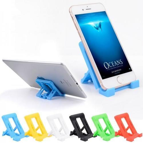 0610 Adjustable 4 Steps Foldable Mobile Stand Holder (1 Pc) (No Box)