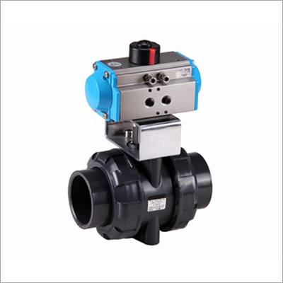 PPH Pneumatic True Union Ball Valve