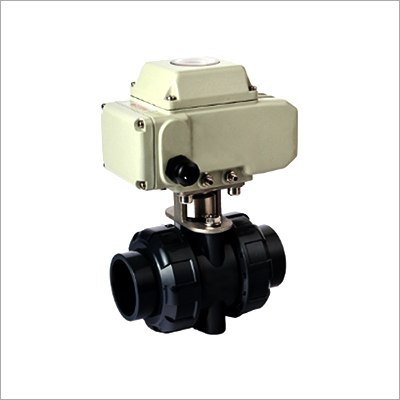 PPH True Union Electric Actuator Ball Valve