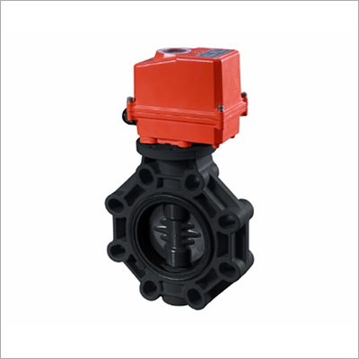 PPH Electric Actuator Butterfly Valve