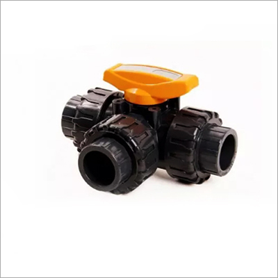 ABS 3 Way Ball Valve