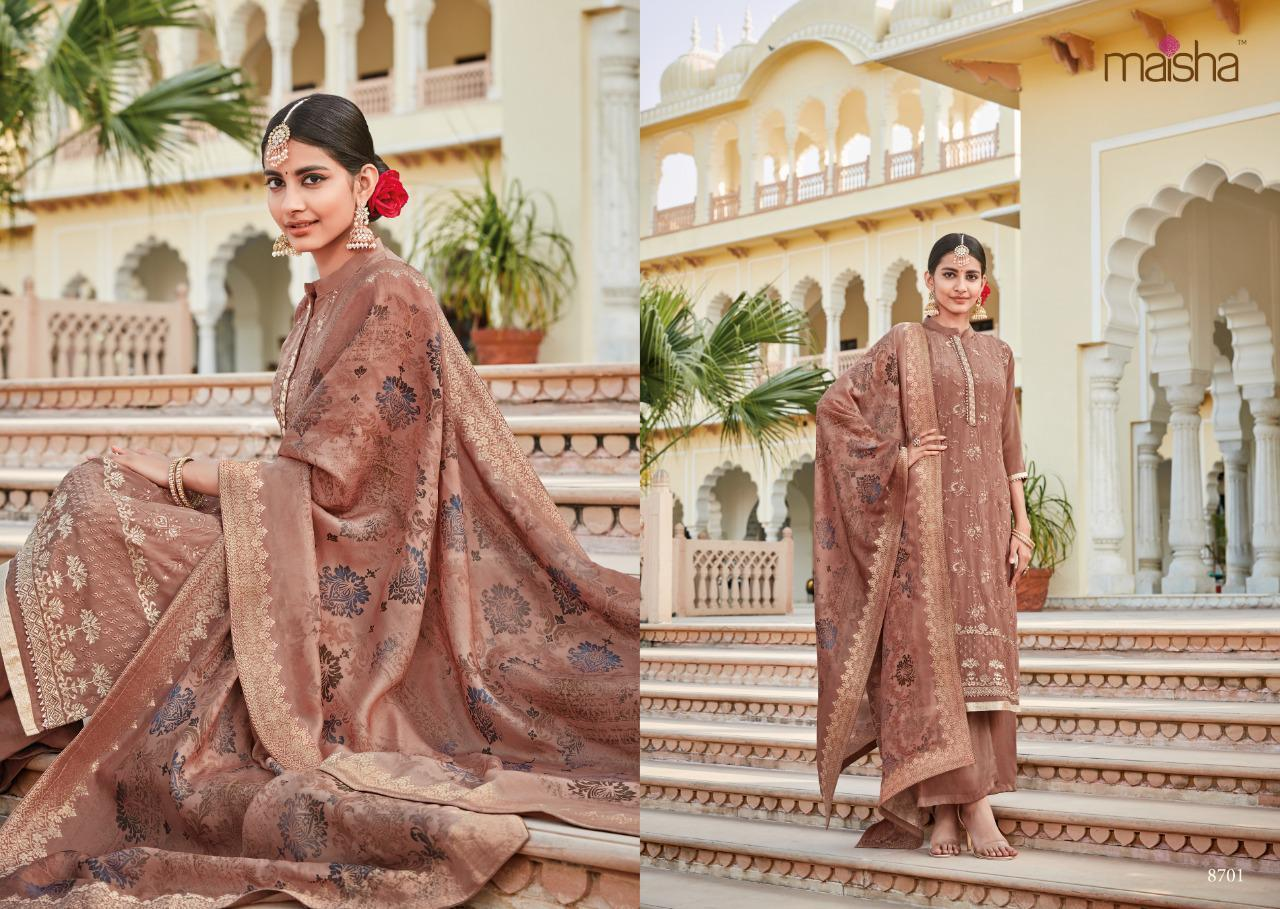 Crepe Embroidered Suits