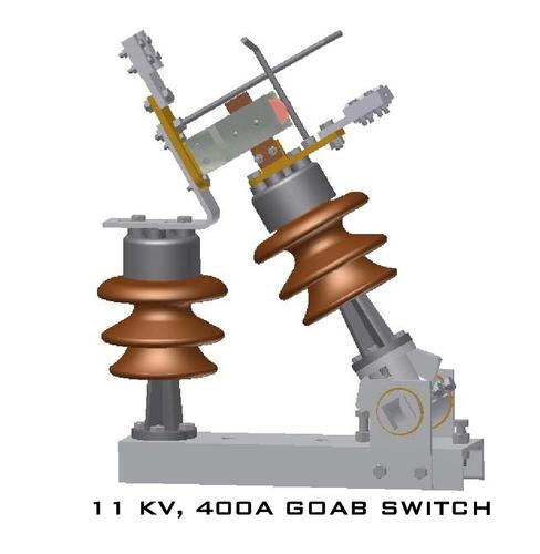 11KV 400A AB Switch 2 Post