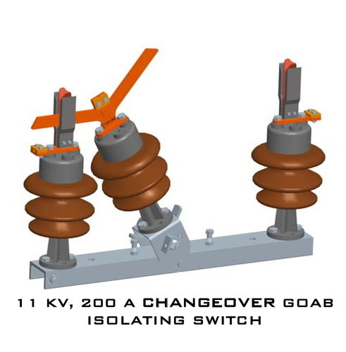 11KV 200A Changeover AB Switch
