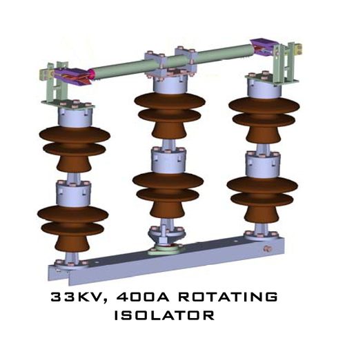 33kv 400A Rotating Isolator