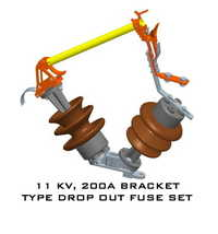 11kv 200a Bracket Type Do Fuse Set