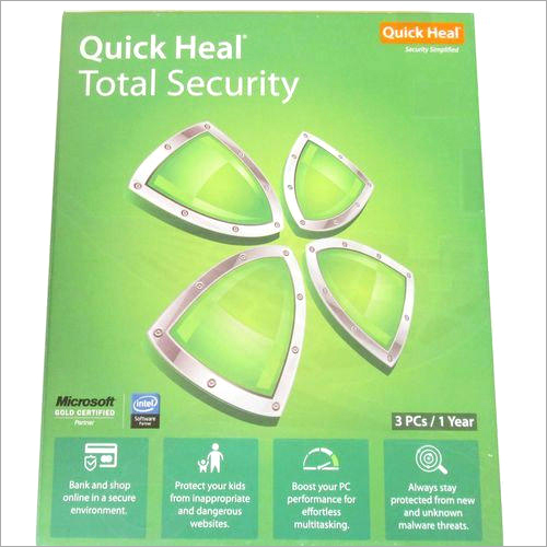 Quick Heal Total Security 3PC 1 Year Antivirus