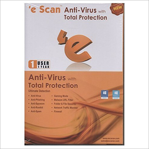 Escan Antivirus With Total Protection