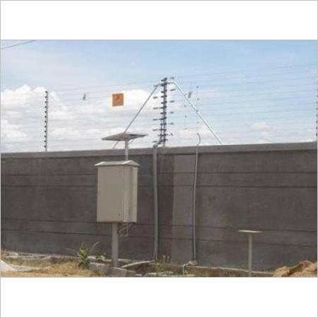 Solar Powered Fence