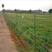 Solar Powered Agriculture Fence