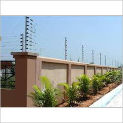 Industrial Solar Power Fence