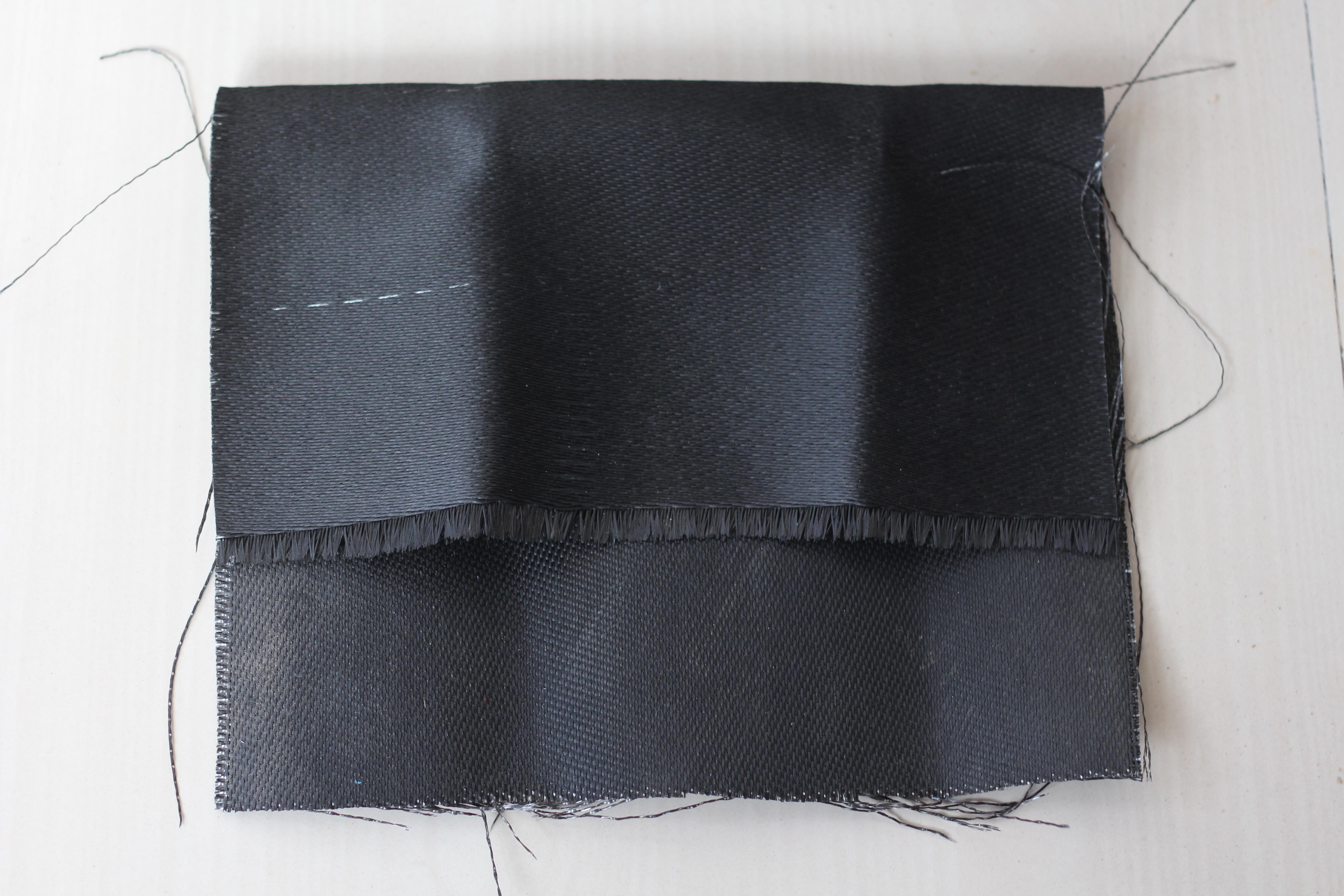 Graphite Coated Fiberglass Fire Blanket