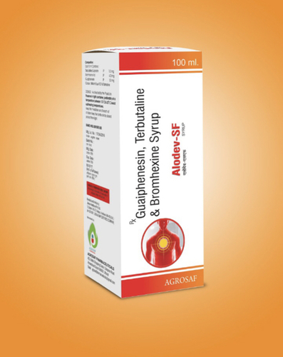 Guaiphenesin, terbutaline and bromhexine syrup