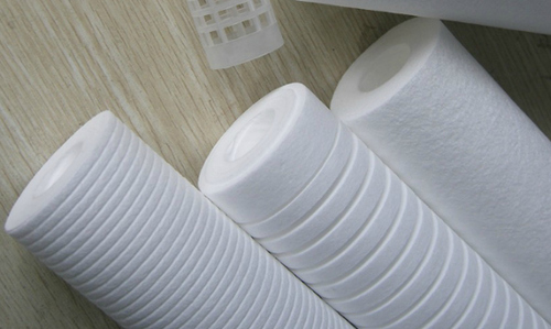 Melt brown non woven fabric packaging film roll