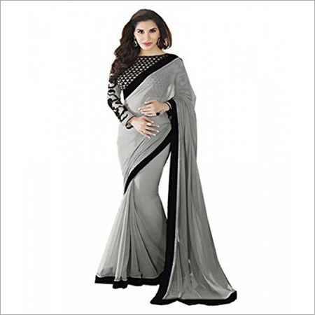 Designer Chiffon Ladies Saree