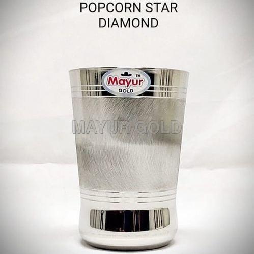 Popcorn Star Diamond Glass