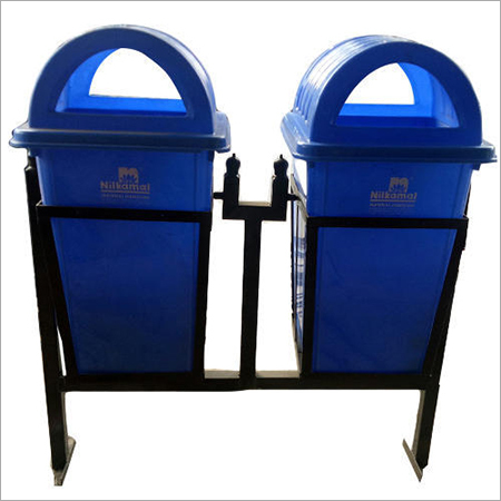 Plastic Dustbin With Stand