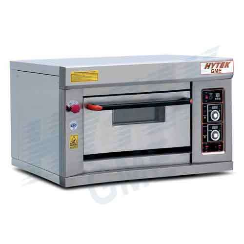 Single Deck With Single Tray Gas Pizza Oven