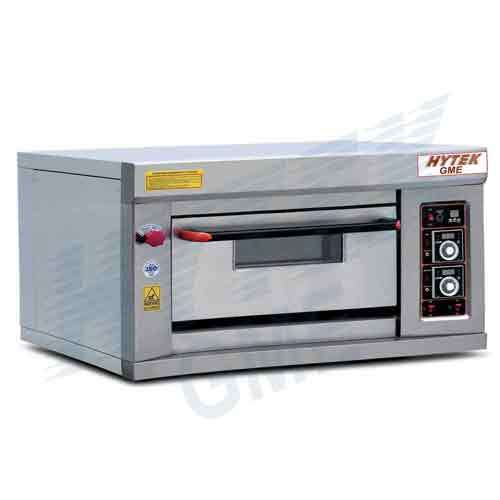 Single Deck With Double Tray Gas Pizza Oven