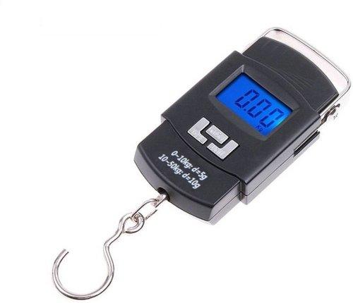 549 Digital Portable Hook Type Weighing Scale (50 kg, Multicolor)