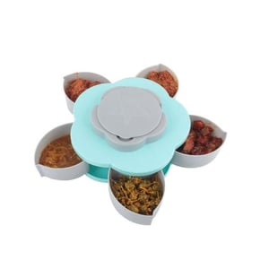 706 Smart Candy Box Serving Rotating Tray Spice Storage