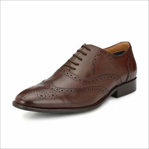 Alberto Torresi Ginom Brown Formal Shoes