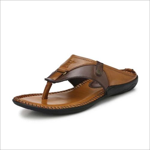 Alberto Torresi Men Tan Outdoor Slippers